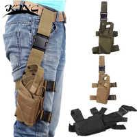 6 color Tornado Tactical Thigh Holster Drop Leg Holster Adjustable Pistol Handgun Nylon Gun Pouch fit SP2022 M9a1 USP 1911