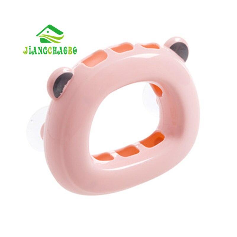Jiangchaobo настенный Зубная щётка держатель Ванная Комната Полка Настенная творческая пара присоски Зубная щётка держатель положить Зубная щё...