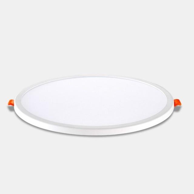 ICOCO 6W 8W 85-265V Ultra Thin LED Panel Light Aluminum Round Ceiling Recessed