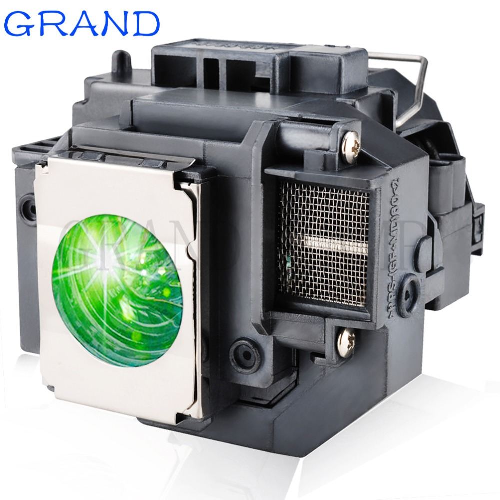 GRAND Replacement Projector Lamp ELPLP58 For EPSON EB-S10 EB-S9 EB-S92 EB-W10 EB-W9 EB-X9 EB-X92 EB-X10 With Housing