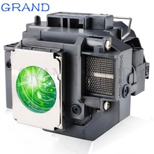 цена на Replacement Projector Lamp ELPLP58 For EPSON EB-S10 EB-S9 EB-S92 EB-W10 EB-W9 EB-X9 EB-X92 EB-X10 with housing