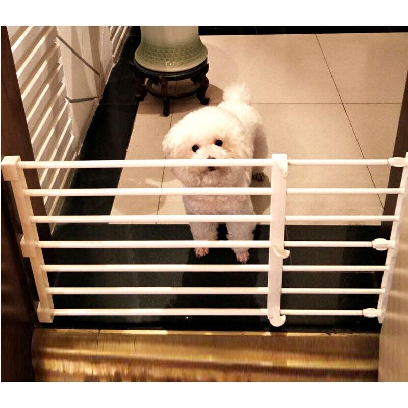 Безопасный манеж для домашних питомцев, регулируемые ворота для щенков, комнатный манеж для домашних питомцев, шкаф, стеллаж, органайзер дл...