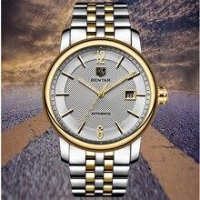 2019 BENYAR Top Brand Luxury mechanical Men Watches steel Fashion Casual Waterproof Automatic Watch Mens Clock Relogio Masculino