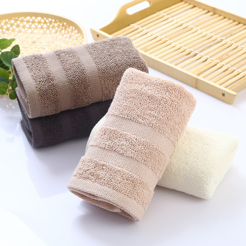 34*75cm Home Hotel Hair Hand Face Towel On Sale Multi Color High Absorbent Egyptian Cotton Towels For Adults Guest