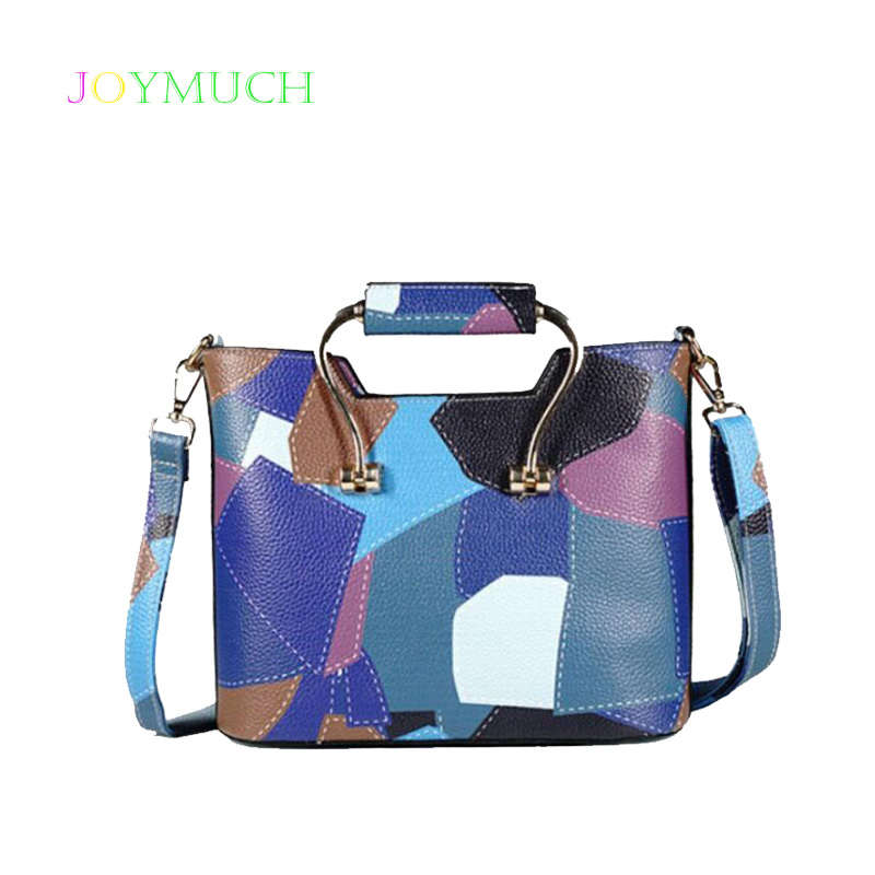 9710c3f7ce50 2019 new wild stitching female bag lady bag small square bag fashion Korean  version of the shoulder bag Messenger bag-in Shoulder Bags from Luggage    Bags ...