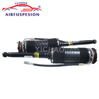 Pair Rear Hydraulic ABC Shock Suspension Absorber Strut For Mercedes W221 S CL Class 2213208813 2213200413 2213208713 2007 2012