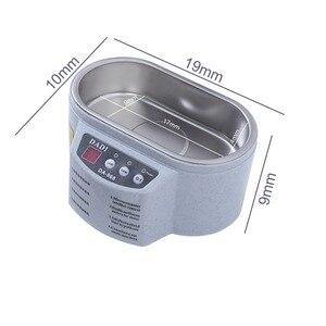 Image 4 - Mini nettoyeur à ultrasons bijoux lunettes Circuit imprimé Machine de nettoyage contrôle Intelligent nettoyeur à ultrasons bain