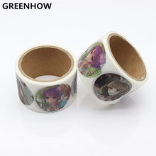 GREENHOW Beautiful DIY Japanese Paper Washi Tapes Girls Colored Masking Tapes Decorative Adhesive Tapes Scrapbooking Tools