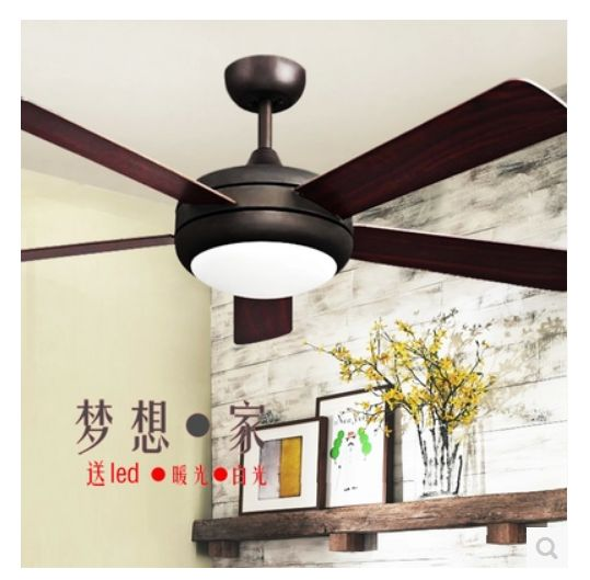 ceiling fan light modern fan lamp living room dining room fan light lamp with remote control - Dining Room Fan Light