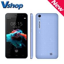 Oryginalny homtom ht16 3g telefonów komórkowych android 6.0 smartphone 5.0 cal 1 gb ram 8 gb rom core720p mtk6580 quad dual sim telefon komórkowy