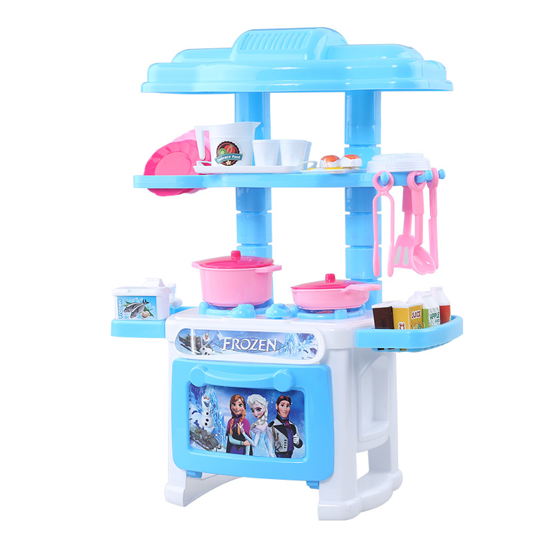 New style play house kitchen tableware table toys simulate for Toy kitchen table