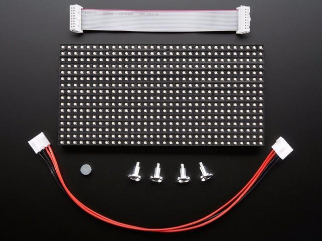 P5 Interior LED Do Painel Full Color LEVOU Módulo 320*160mm HUB75 1/16 de Digitalização SMD2121 LEVOU Dot Matrix Painel para Videowall Interior 10 Unidades/pacote