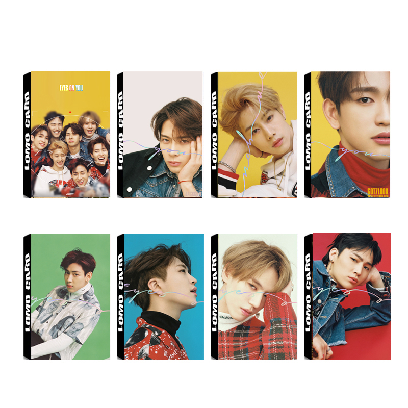 Beads & Jewelry Making Symbol Of The Brand Yanzixg Kpop Got7 Album Never Ever Self Made Paper Lomo Card Photo Card Poster Hd Photocard Fans Gift Collection