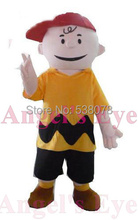 Cheap Anime Cosplay Fancy Dress Charlie Brown Adult Carnival Mascotte Cosplay Dress Kits Suit Factory Direct SW1570