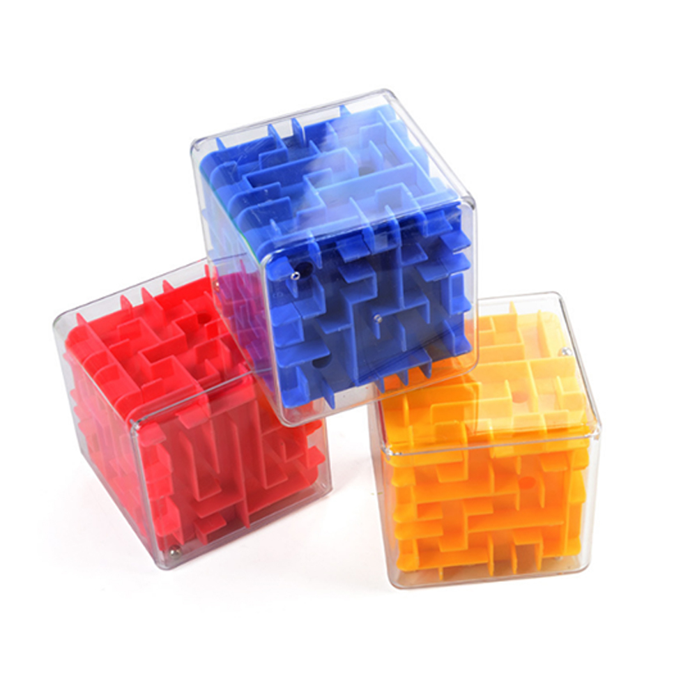 3D Maze Magic Speed Cube Puzzle Game Labyrinth Ball Toys  Magicos Puzzles Maze Ball Games Educational Toys For Children Adults