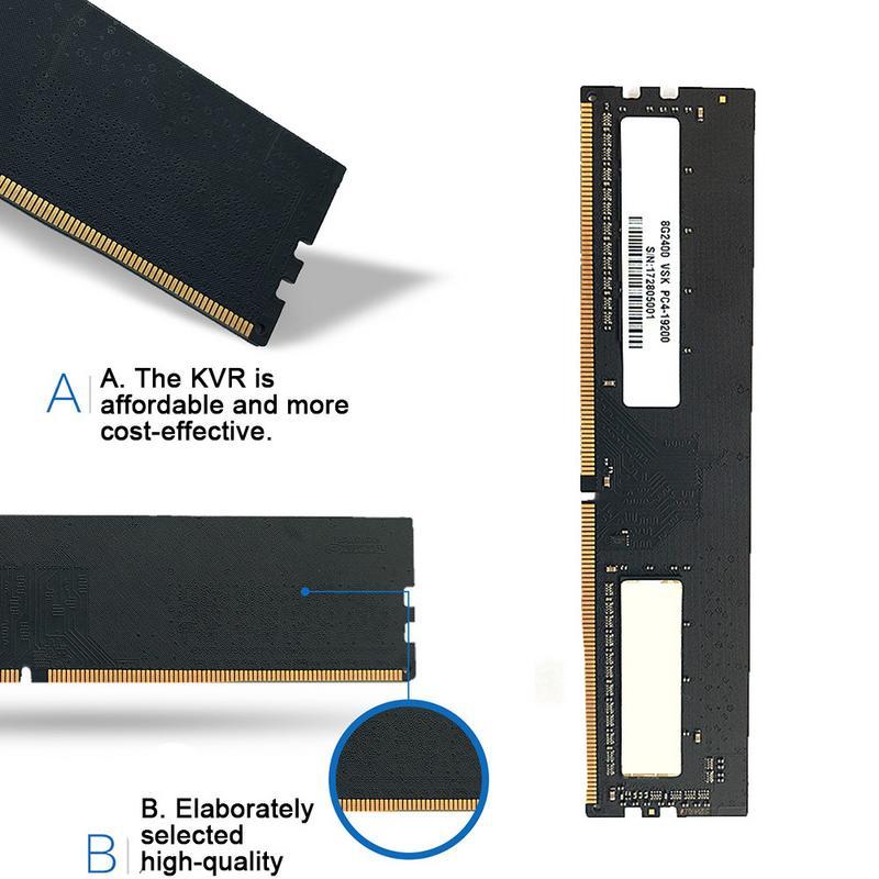 Vaseky DDR4 Quatrième Génération Carte Mère 8g Mémoire Capacité 2400HMz Fréquence De Bureau Mémoire Banque Augmentation de la Vitesse de Transmission