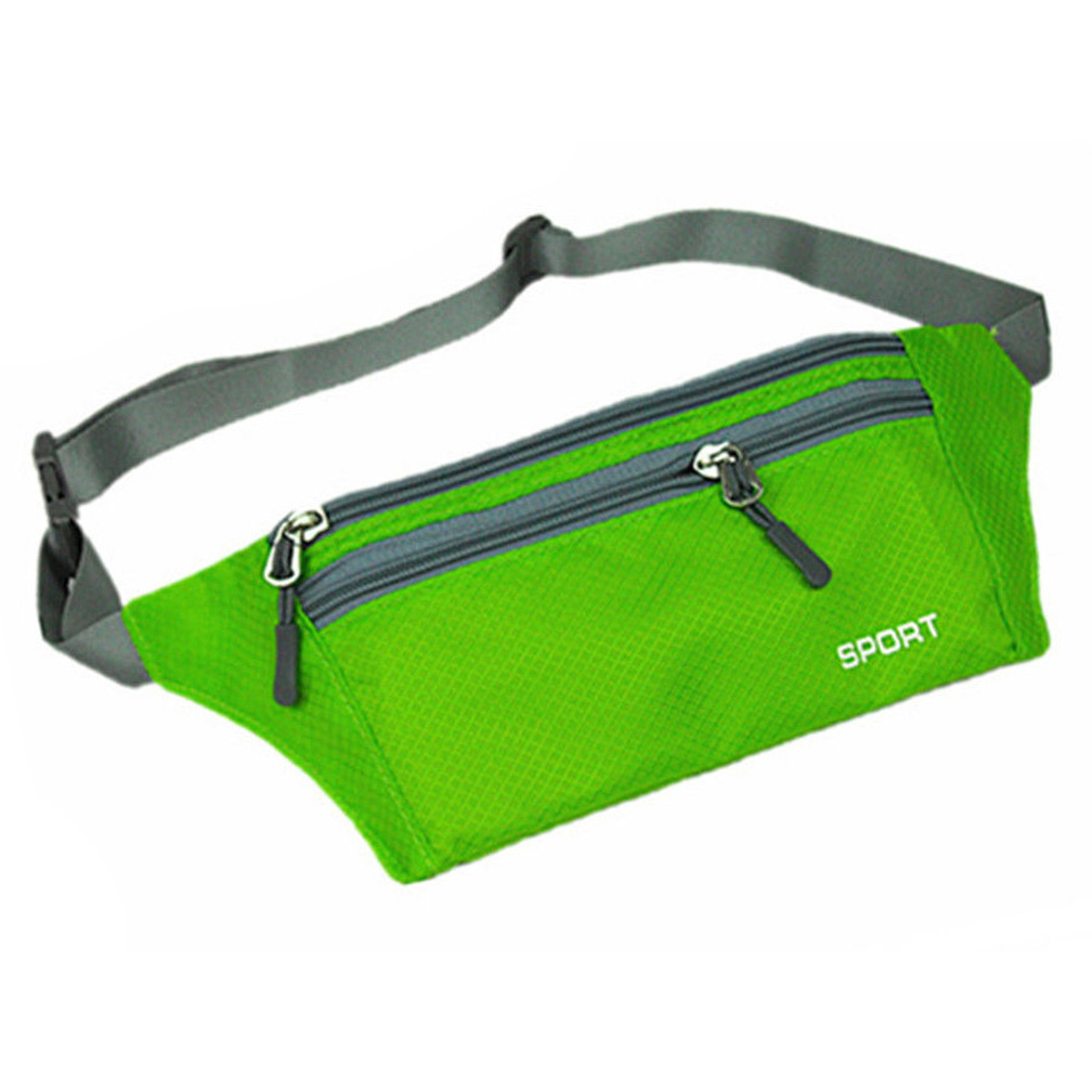 ABDB Unisex Bum Bag Travel Handy Fanny Pack Waist Belt Zip Pouch