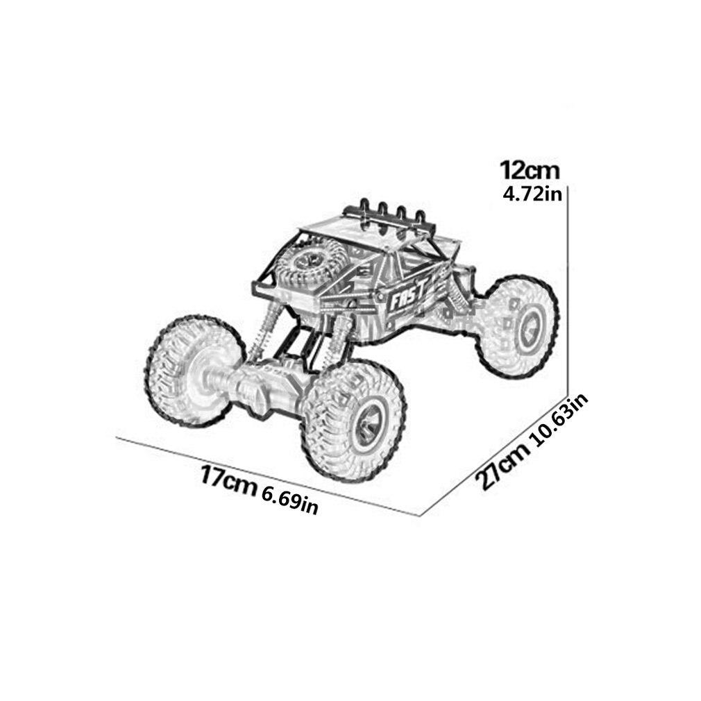 Remote Control Car Climbing Drift Stunt Four-wheel Drive