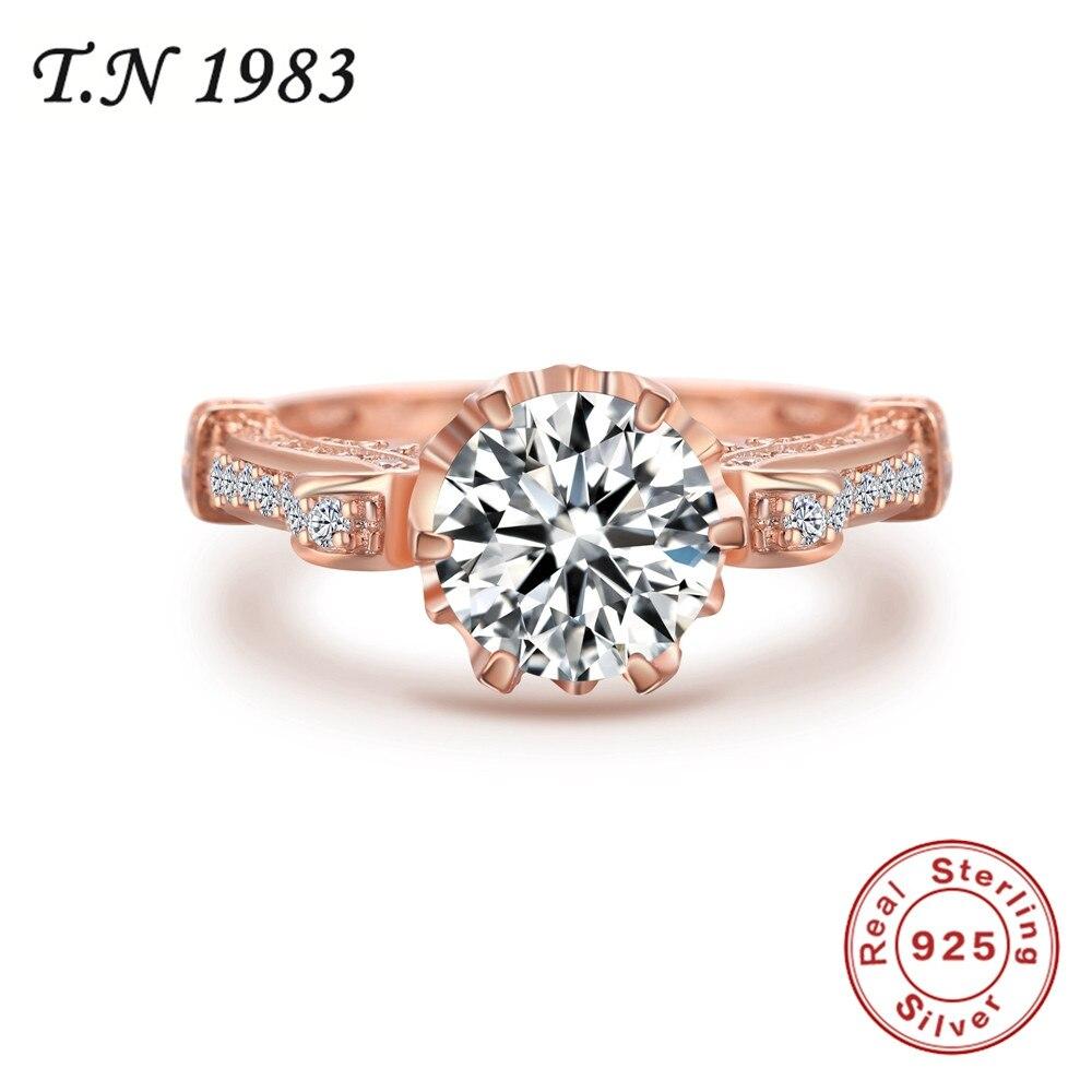Ringe Gut Authentic Weiß Gold Farbe Meine Prinzessin Königin Crown Ring Design Hochzeit Ringe Für Frauen Schmuck Nz290