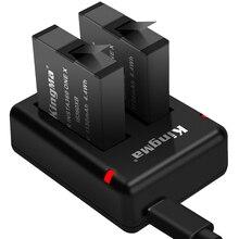 Para insta360 um x bateria/carregador de porta dupla câmera panorâmica acessórios
