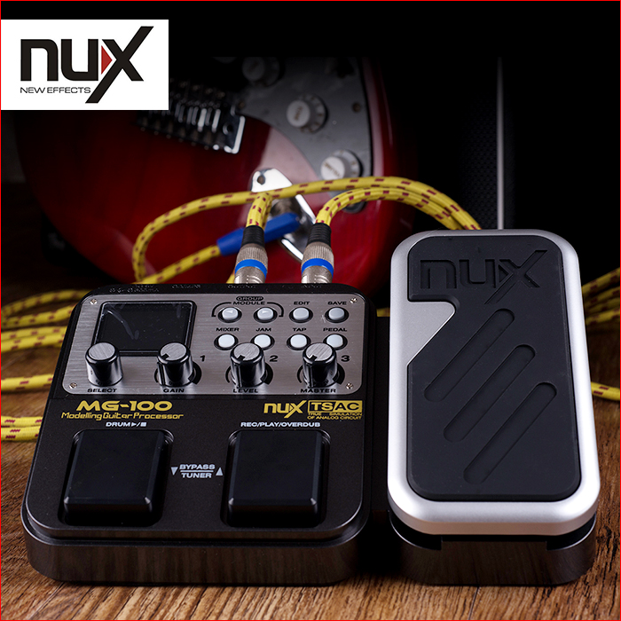 Free shipping Nux electric guitar effects multi-effects pedal, electric guitar digital integrated composition with drum machine