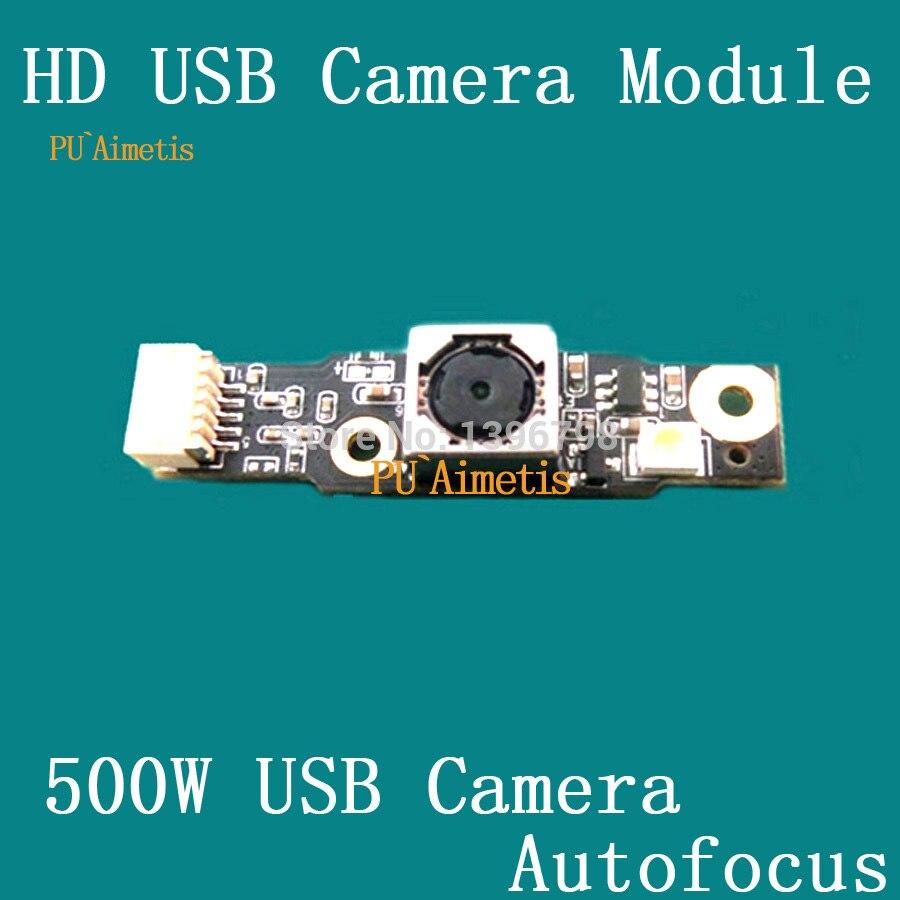 PU'Aimetis caméra De Surveillance HD 1080 p 500 w pixel autofocus mi tablette ordinateur portable en utilisant le module de caméra USB