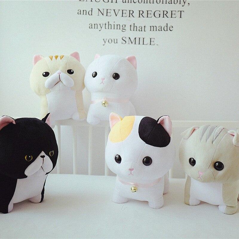 Doub K 5 pcs/lot kawaii chat en peluche jouet 30 cm 40 cm doux peluche poupées Simulation animaux en peluche jouets enfants oreiller cadeau créatif
