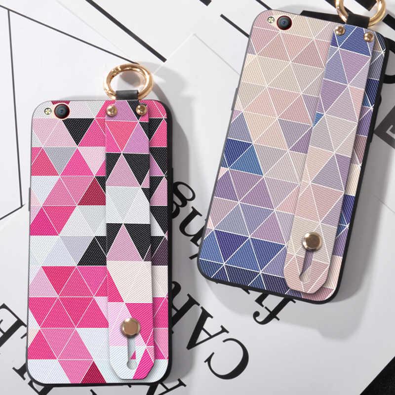 Liefde Hand Strap Case Voor ZTE Nubia Z17 Z18 Mini S Z17S Zachte Siliconen Polsbandje Coque Cover Cases Voor Nubia n1 M2 Lite N2 N3