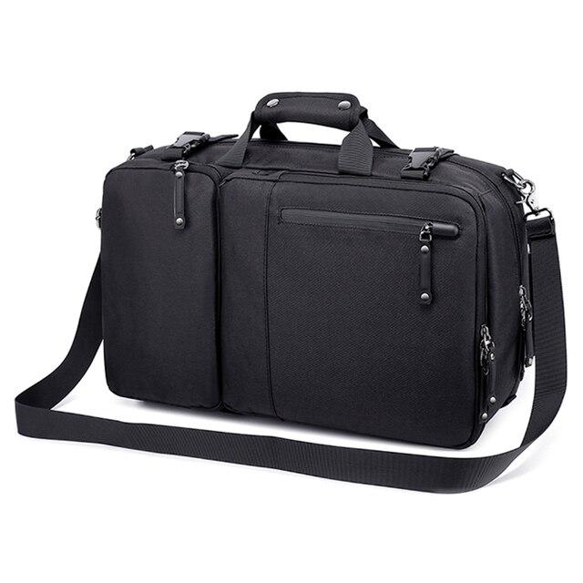 MAGIC UNION Multifunctional Backpack For Men 17.3 inch Laptop Bag Large Travel Bagpack 3 in1 Mochila Hombre Shoulder Bag 3