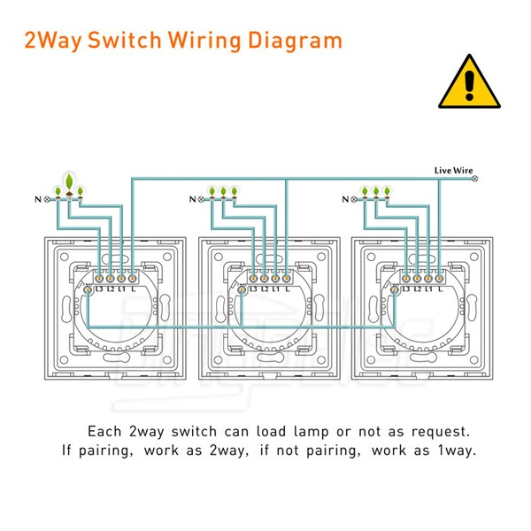 1gang 2way touch light switch,silver aluminum and glass panel smart ...