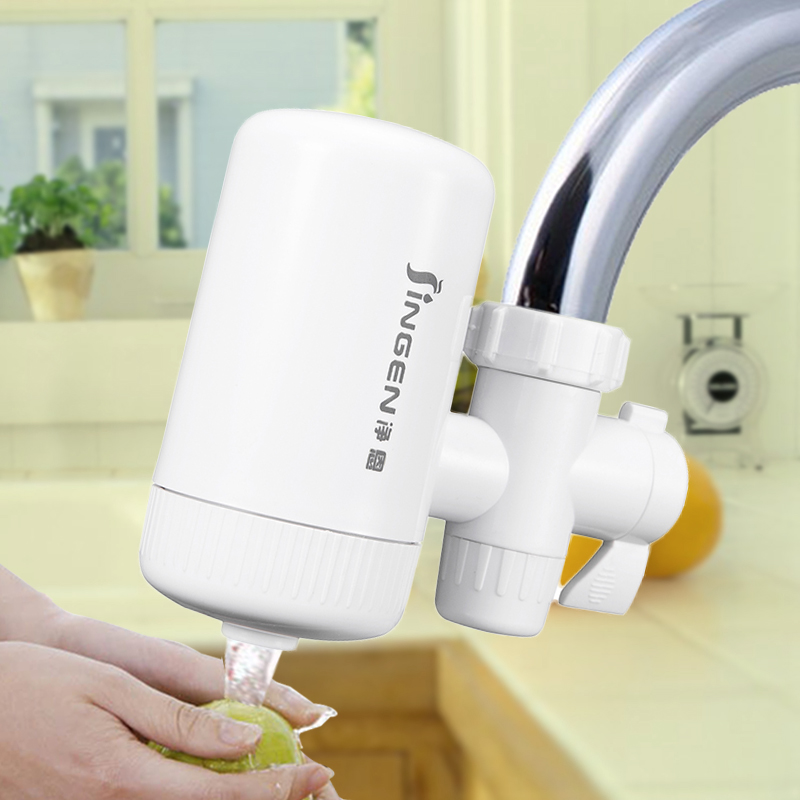 Faucet Water Purifier Household Tap Filter Kitchen Direct Drinking Pre Filtration high quality 3 stage undersink ion exchange resin drinking water filtration remove calcium and magnesium 1 4 quick connector