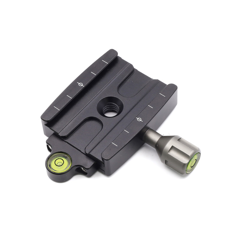 XILETU QR-60P Portable Quick Release Plate Adapter Mount for Tripod Monopod 1/4 & 3/8 Thread Adapter Camera Universal
