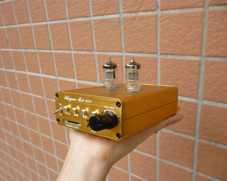ФОТО Rhyme 6J1 tube bluetooth mini headphone amplifier support  Lossless music USB APE FLAC mp3 player headset audio Preamplifier