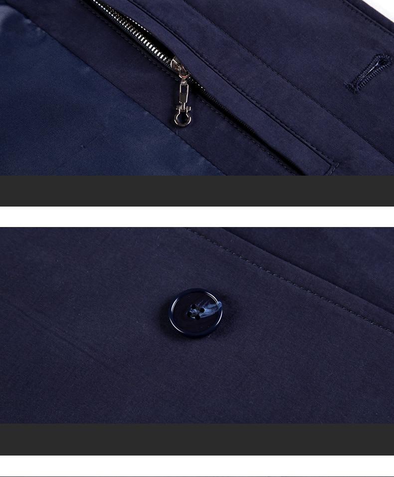 2018 New Spring Mens Casual Trench Coat Khaki blue Longline Thin Windbreaker Coats (12)