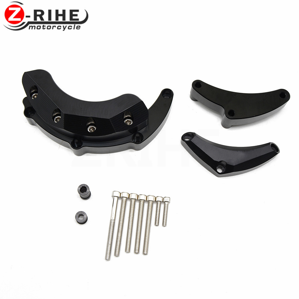 For Motorcycle Engine Guard For YAMAHA MT-09 FZ-09 MT09 2017 Tracer XSR900 2014-2017 Engine Guard Case Slider Cover Protector Se for yamaha mt 07 fz 07 mt07 fz07 2014 2016 motorcycle accessories cnc aluminum engine protector guard cover frame slider blue
