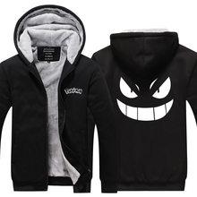 Gengar Pokemon Sweatshirts Zipper