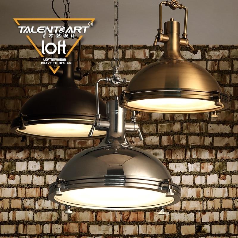 110v 220v iron pendant light vintage lamp hanging light - Lamparas decorativas de pie ...