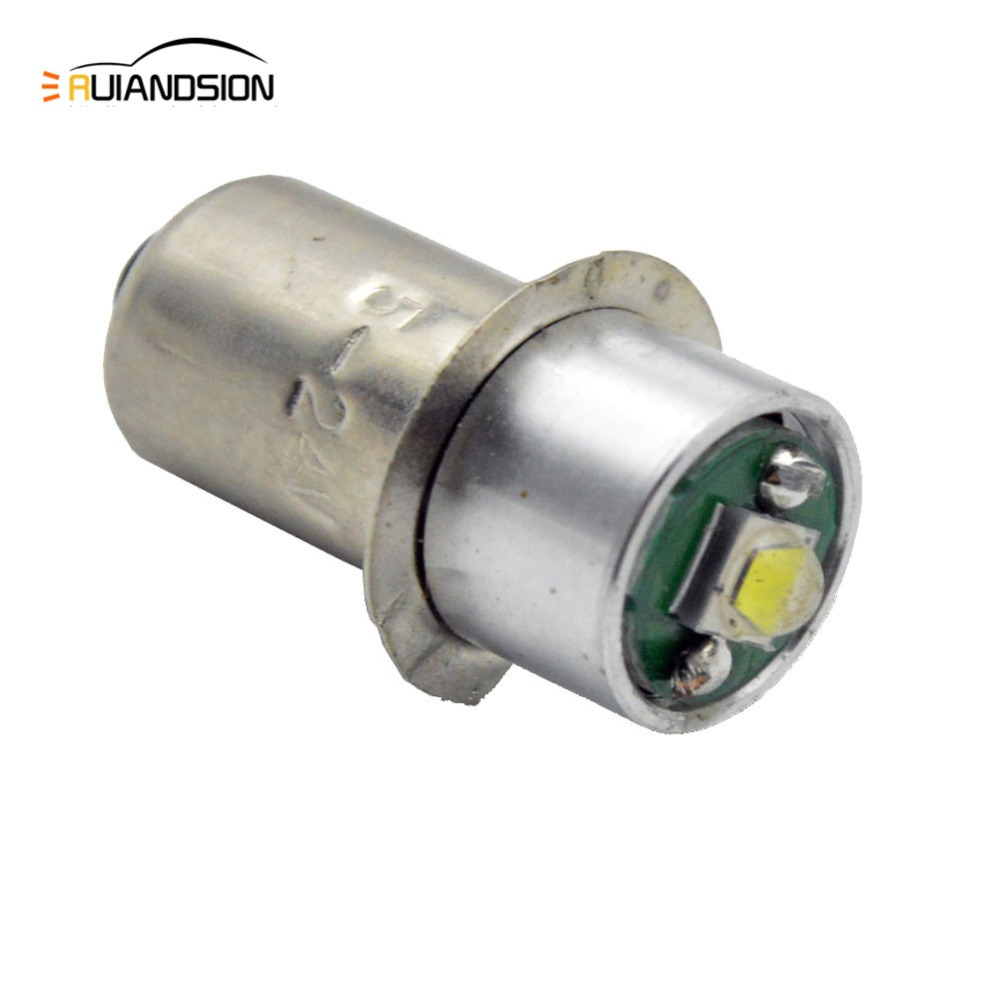 1X 3000K 6000K 3V-18V P13.5s PR2 PR3 PR4 High Power 5W CRE LED Bulb Upgrade Lamp for Mag-Lite 6d/6c Cell Torch Flashlights