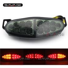 For KAWASAKI KLE 1000 KLE1000 VERSYS 2012 2013 2014 2015 Motorcycle Integrated LED Tail Light Turn signal Blinker Lamp Clear for honda cb400x cb500x cbr400r cbr500r cb500f 2013 2015 14 motorcycle integrated led tail light turn signal blinker lamp clear