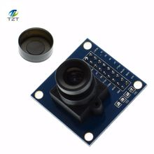 Guaranteed New 1Pcs Blue OV7670 300KP VGA Camera Module for Arduino(China)