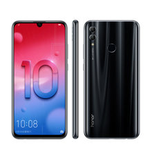 "Original Honor 10 lite Mobile Phone 6.21"" 6GB 64GB Kirin 710 Octa Core 24MP+13MP Camera 3400mAh Android 9 4G LTE cell phones(China)"