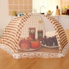 Креативное кружевное покрытие для еды, пылевое складное блюдо для еды, покрытие для защиты от мух, стол, скатерть