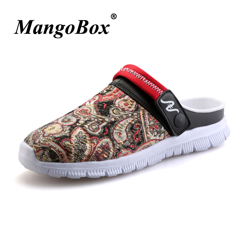 Designer Men Casual Sandals Weight Light Soft Slippers Green Red Foam Sandals Outdoor Casual Shoes Men Cheap Sneaker Sandals