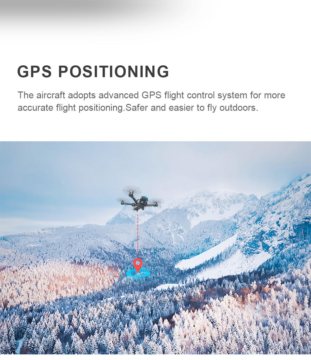 AOSENMA CG033 Drone Brushless Motor GPS RC Drone with 1080P HD Camera WiFi FPV Easy Fly mins RC Helicopter VS S70W Drone 13