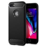 100 Original SGP Case For IPhone 7 IPhone 7 Plus Liquid Armor Black Soft Premium Flexible