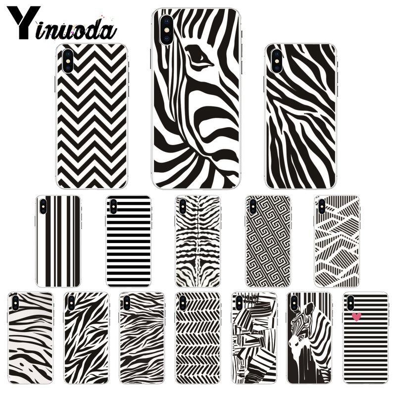 Yinuoda Animal Black White Zebra Stripe Diy Printing Drawing Phone Case Cover Shell For Iphone 8 7 6 6s Plus 5 5s Se Xr X Xs Max Aliexpress,Free Christmas Embroidery Designs Pes