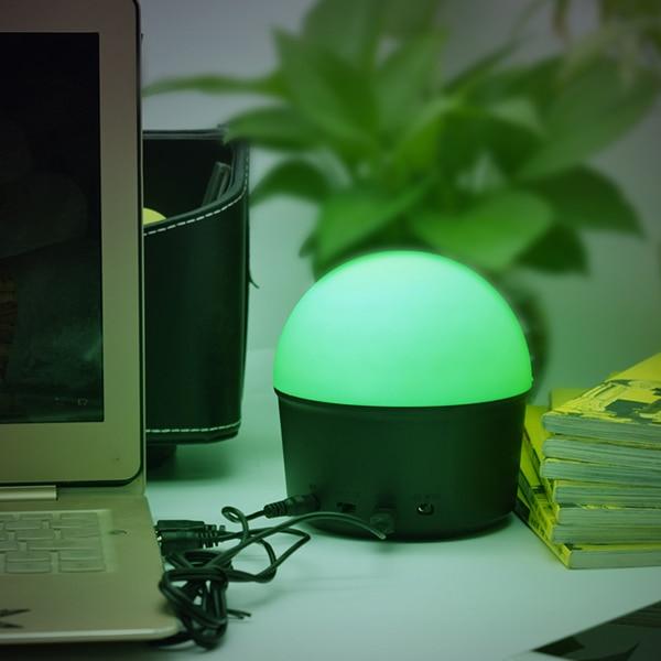 USB Bluetooth Speaker Home Smart Wireless Mini Disco Ball Night Lamp 5V 10W Modern Night Lights for Decorating Home