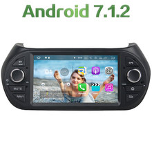 Quad Core 2GB RAM 4G Wifi Android 7.1.2 Car DVD Multimedia Stereo radio for Fiat Fiorino/Citroen Nemo/Peugeot Bipper 2008-2015