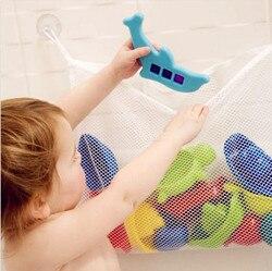 Free shipping kids baby bath toys tidy storage suction cup bag baby bathroom toys mesh bag.jpg 250x250