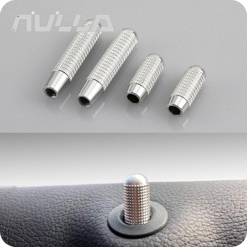 Interior Da Porta do carro Pino de Trava Parafuso de Substituição parte para Mercedes Benz C E Classe GLK W204 W212 X204 Liga de Alumínio
